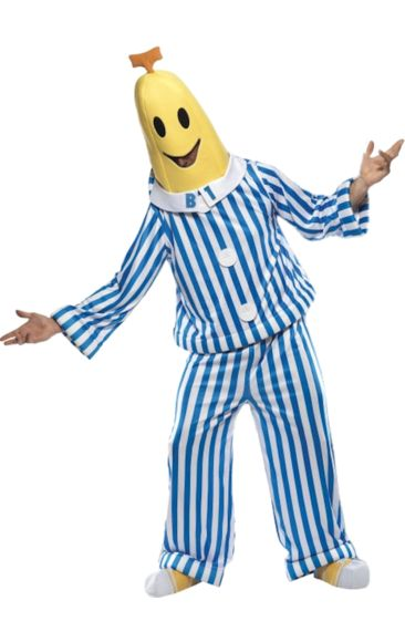 Adult Bananas In Pyjamas Costume   Jokers Masquerade