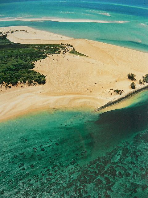 Bazaruto island, Mozambique:  The best thing about this place: the whole archipelago is a natural protected area; there are only two resorts at Bazaruto mainland, both very good. The Pestana Resort and The Indigo Bay Resort