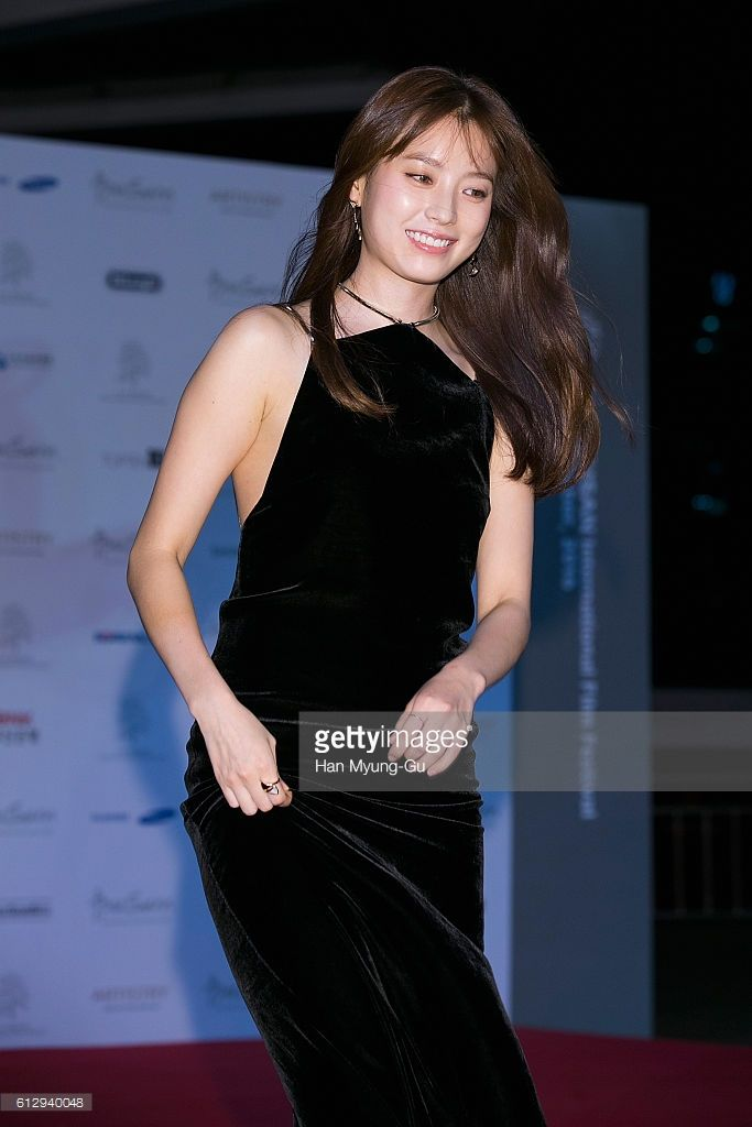 South Korean actress Han Hyo-Joo attends the opening of the 21st Busan International Film Festival on October 6, 2016 in Busan, South Korea.