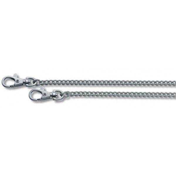 Nyhed hos Nyttigbras.dk  Victorinox Kæde til lommeknive (40 cm, forniklet, 2 karabinhager)