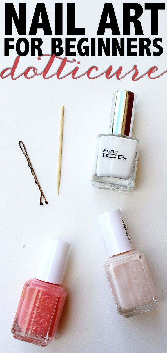 Nail Art For Beginners by My Newest Addiction for ALittleClaireification.com