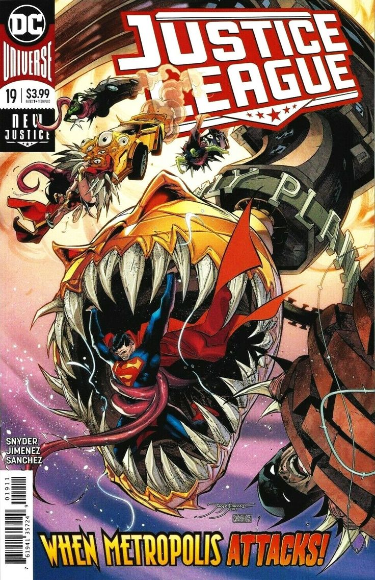 239 justice league 19 main cvr dc 2019 nm sold by