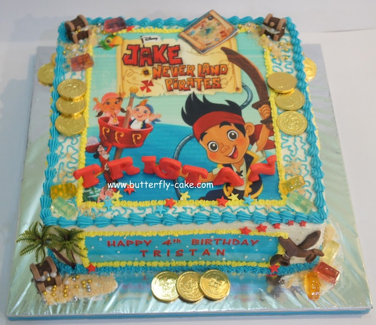 Jack And The Neverland Pirates Cakes - www.birthrightearth.org