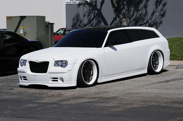 Subtle 2 door conversion on 300c touring wagon