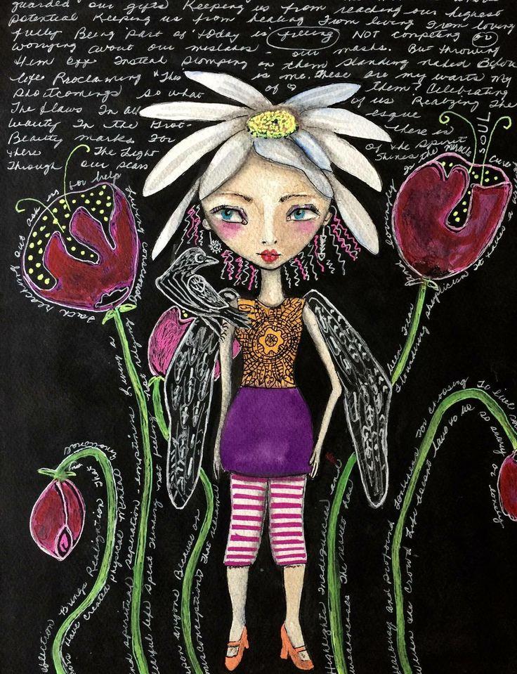 Soul Flower by Jeanette MacDonald Art