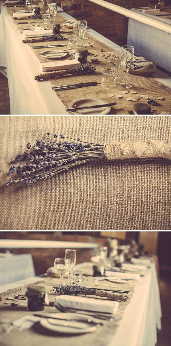 lavender & hessian wedding http://www.firsthandphotography.co.uk