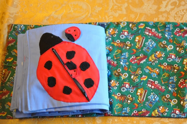 Elisa Loves: General Instructions for Making a Quiet Book