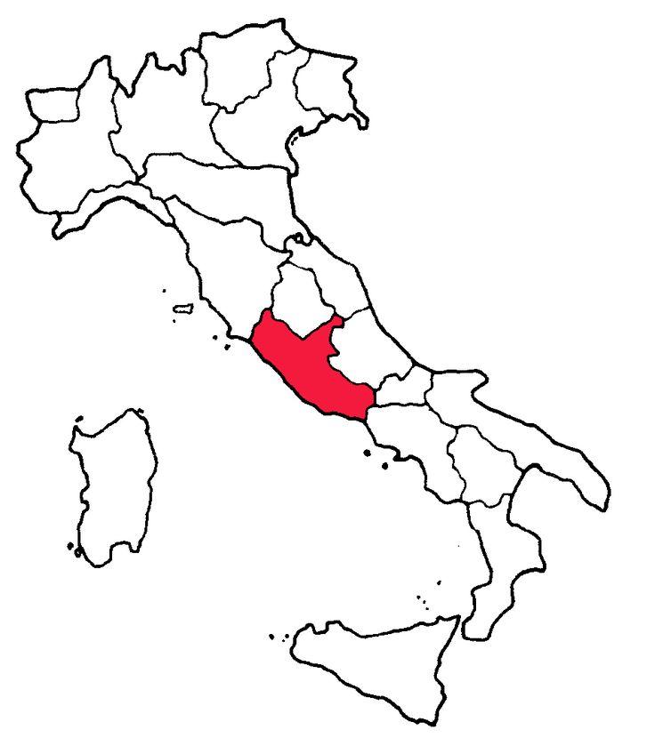 Włoskie produkty regionalne - jedzenie, wino i rękodzieło typowe dla środkowych Włoch.