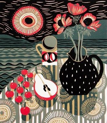 Jane Walker printmaker http://www.janewalkerprintmaker.com/