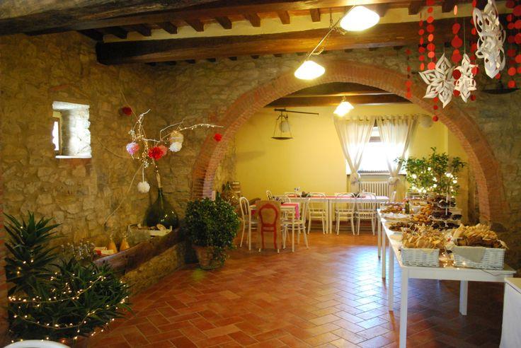 the Christmas event at Allegro Agriturismo Argiano