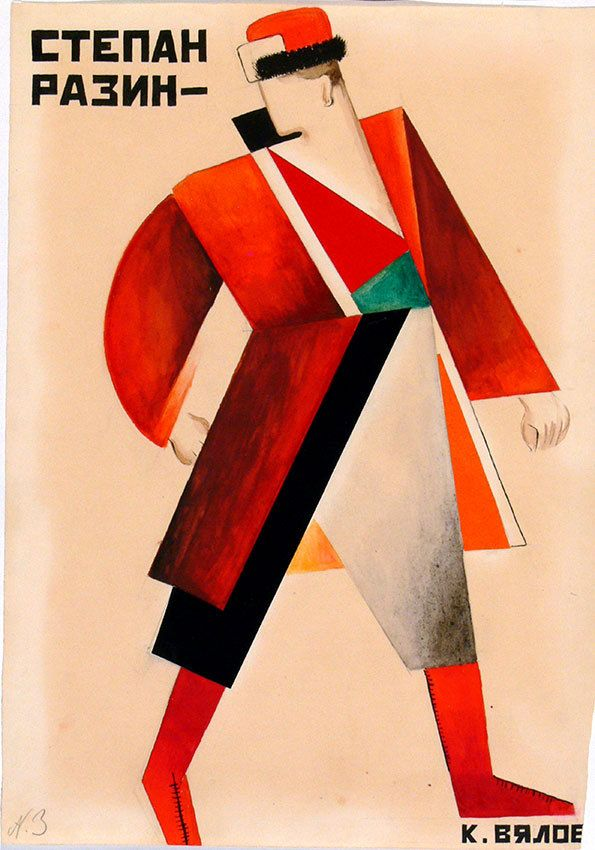 Constructivism and early soviet fashion design