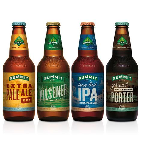 Summit Brewing Bottles