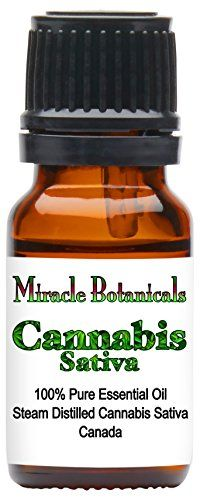 Miracle Botanicals Cannabis Sativa Essential Oil - 100% Pure Cannabis Sativa - Therapeutic Grade //Price: $54.97 & FREE Shipping //     #cannabisstrains