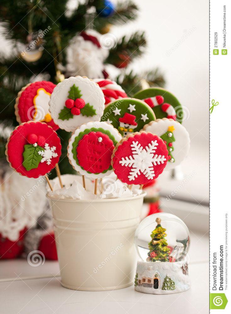 galletas de jengibre navideñas