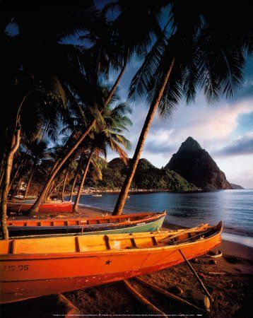 "St. Lucia ""The Island of Romance"""