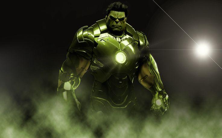 hulk iron man suit art design