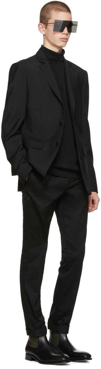 Dior Homme - Silver Hardior Shield Sunglasses