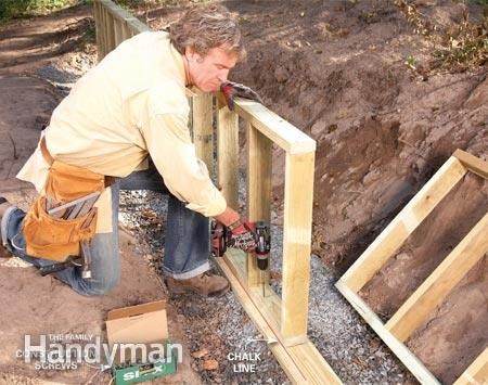 03 - Frame - How to Build a Retaining Wall