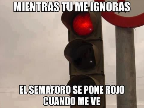 semaforo rojo