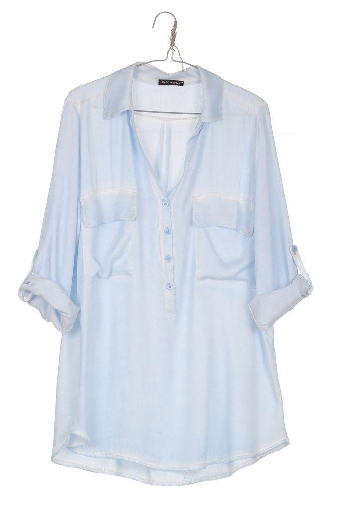 Copy of Camisa TIE DYE azul claro