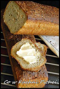 Przepyszny chrupiący chleb bez zagniatania, wystarczy tylko wymieszać składniki w dużej misce pozostawić do wyrośnięcia na 20 min i upi...