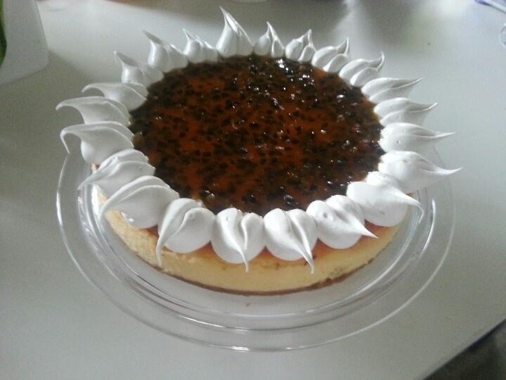 cheesecake de maracuyaDe Maracuya, Cheesecake De