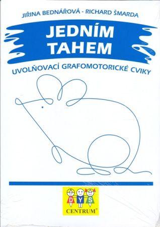 J. Bednářová - Jedním tahem: grafomotorická cvičení pro uvolnění ruky a získání na plynulosti tahů.