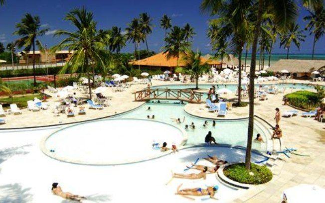 O resort Salinas do Maragogi, em Alagoas, tem infra-estrutura de lazer para pais e filhos. Para as crianças menores de três anos, o estabelecimento disponibiliza serviço de babá, cobrado à parte. Foto: Divulgação