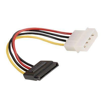 Internal PC Power Adapter Cable, Molex 5.25″ to SATA -  - http://sellitsocially.co.uk/internal-pc-power-adapter-cable-molex-5-25-to-sata/