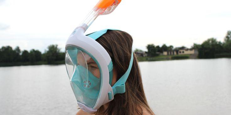 Schnorchelmaske Easybreath – Die Taucherbrille der ganz anderen Art