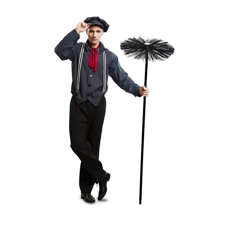 Disfraz de Deshollinador Mary Poppins Adulto #carnaval #novedades2016