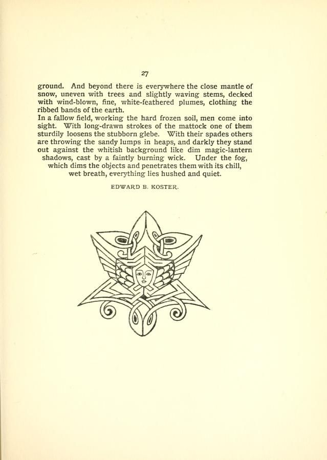1896-97 - The Evergreen, a northern seasonal, by Sir Patrick Geddes