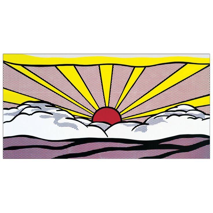 LICHTENSTEIN - Sunrise 95x46 cm #artprints #interior #design #art #print #iloveart #followart #artist #fineart #artwit  Scopri Descrizione e Prezzo http://www.artopweb.com/autori/roy-lichtenstein/EC19676