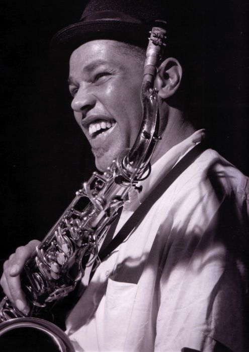 "Dexter Gordon at his ""Go!"" recording session. Englewood Cliffs NJ, August 27 1962 (photo by Francis Wolff)"