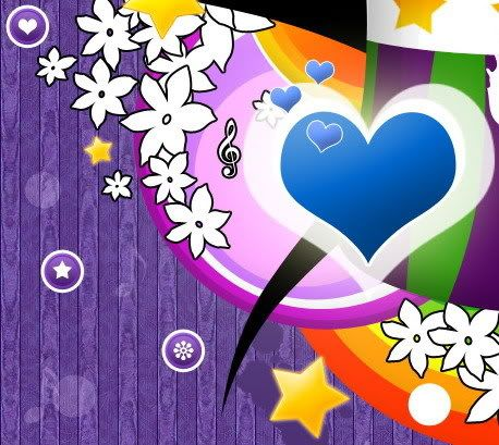 : 60S Art, Hearts Flowers Stars And Music, Hippie, Color, Peace, Happiness, Day Love Hearts, Boots