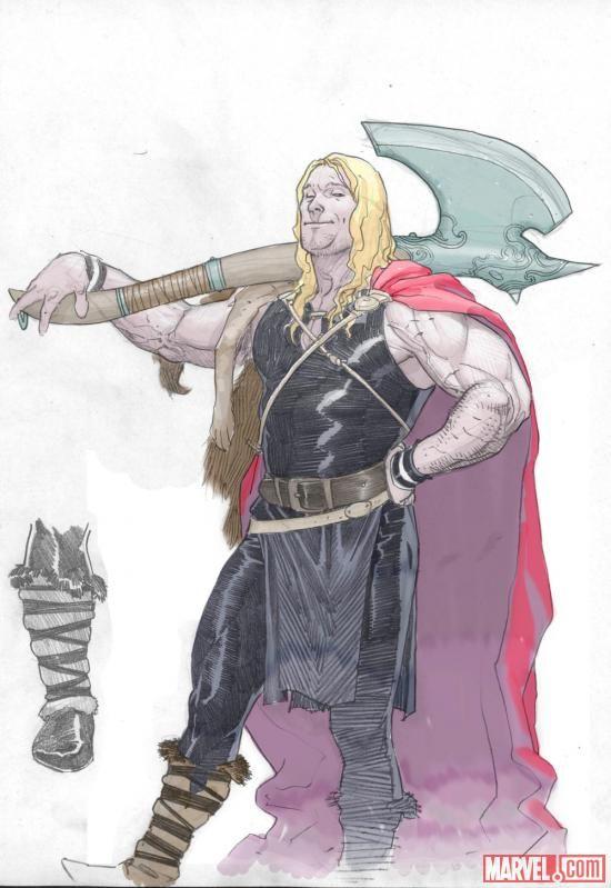Ilustraciones sueltas chulas encontradas por el internete - Página 5 49ee2e92b71741b414bc7eabcba8a217--lady-thor-thunder