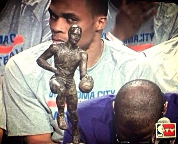 """At long last.""-----Full Results as Russell Westbrook Wins MVP"