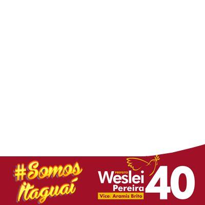 EU VOTO 40 WESLEI - Support Campaign | Twibbon