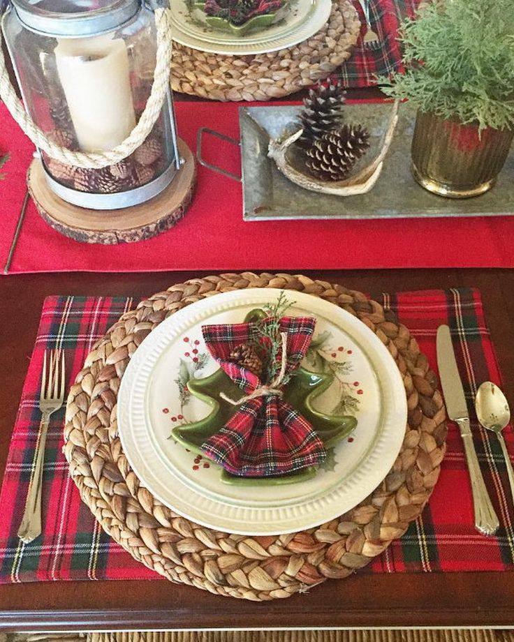 791 Best Christmas Table Decorations Images On Pinterest