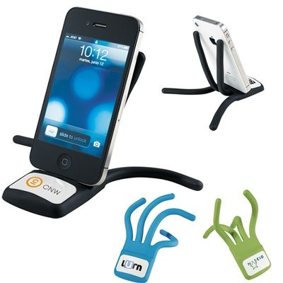 Bendable Cell Phone Stands...Ideas for great Business Promotional Giveaways #business #promotions  http://www.promotion-specialists.com