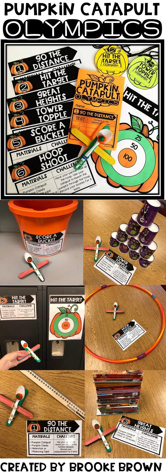 STEM Challenges for Halloween for the Elementary Classroom! STEM Activities | October STEM | Pumpkin STEM