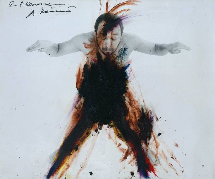 Cave to Canvas, Arnulf Rainer, Untitled (Body Language), 1973