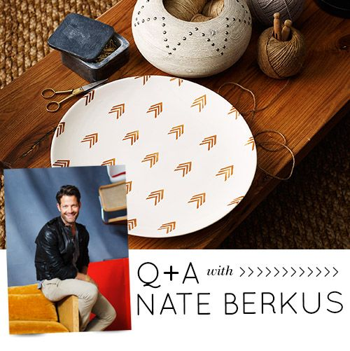 we re kicking today with a q a with nate berkus about his new peruvian inspired
