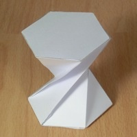 twisted hexagonal prisms