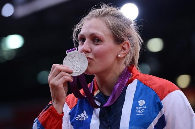 Gemma Gibbons wins silver for #TeamGB! #Olympics