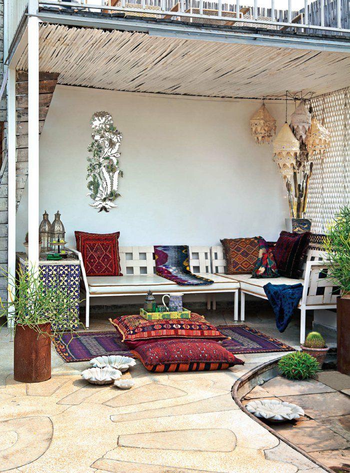 Liegestuhl Im Garten – 55 Ideen Für Gestaltung Vom Lounge-Bereich ...