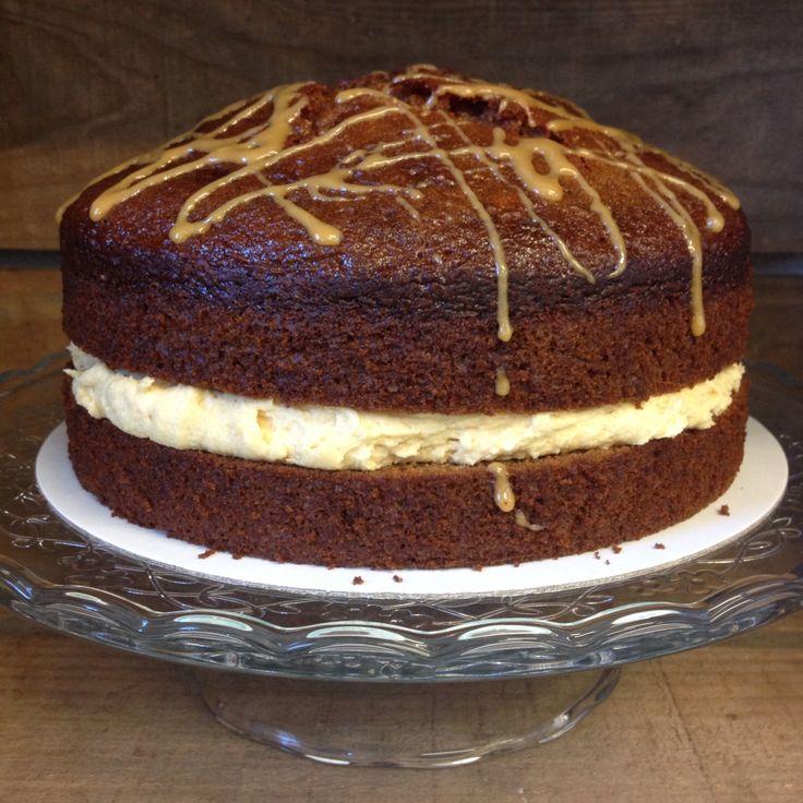 Our amazing caramel cake
