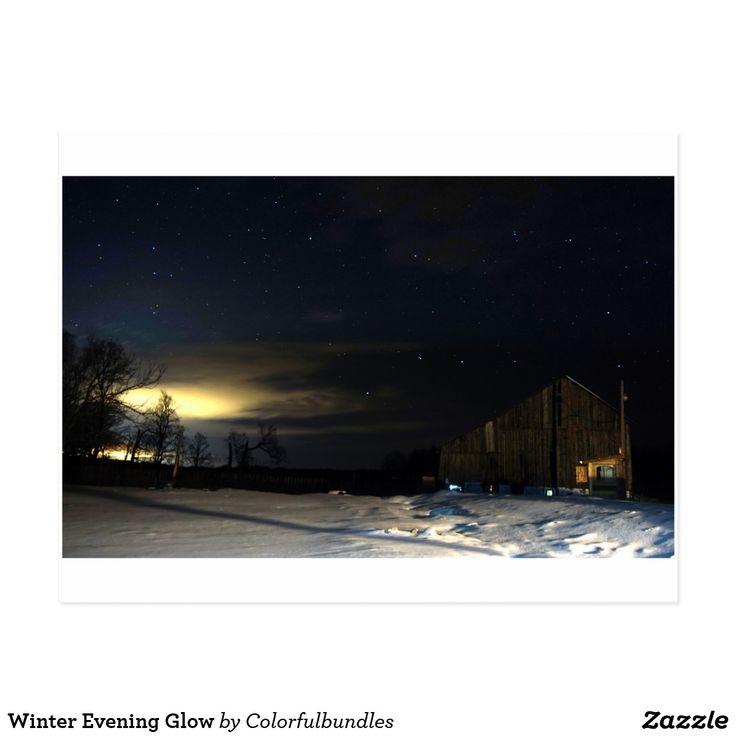 Winter Evening Glow