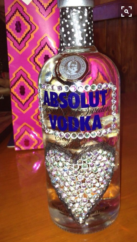 Decorated Alcohol Bottles For Birthday 26 Best Alcohol & Glitter Images On Pinterest  Alcohol Bottles