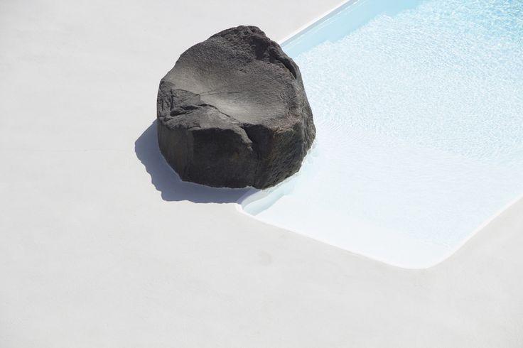 Theran Soil. Aenaon Villas Santorini | photography Irini Giotopoulou Emerging  https://thegreekdesigners.com/…/30/aenaon-serenity-in-thira/